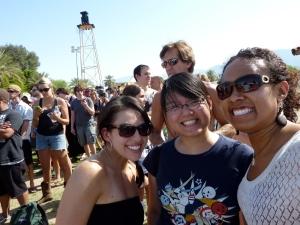 Sabrina, Liane & Joyce @ Coachella 2010