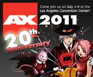 Anime Expo 2011 banner