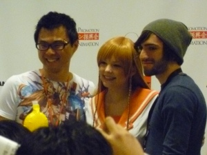 Danny Choo, Mirai cosplayer, and Fakku guy