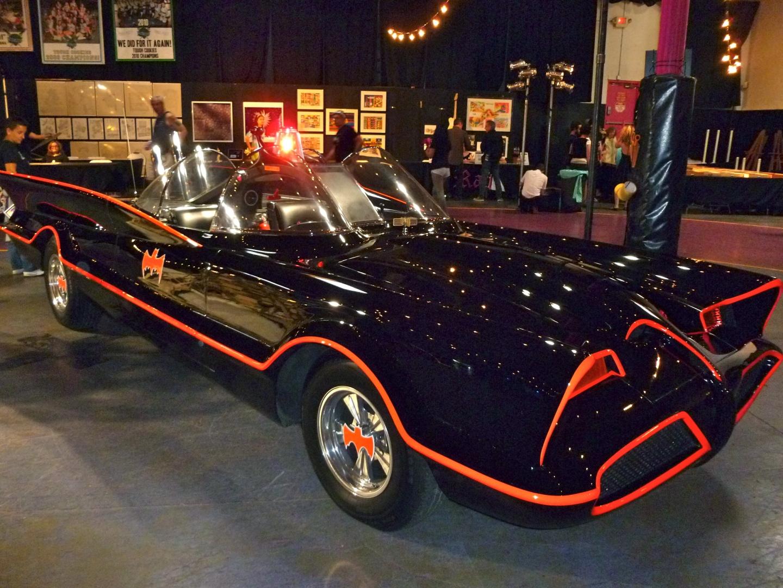 Batmobile display at TwentyWonder