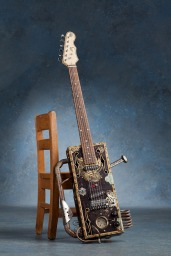 Shawn Denman's Steampunk Elizabeth (6 string electric)